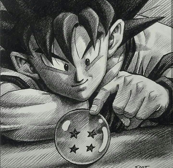 "1,888 Me gusta, 7 comentarios - @dragonball_sketch_page en Instagram: ""Out hero Son Goku... Art by soot #dragonball #dragonballz #dragonballsuper #db #dbz #dbsuper…"""
