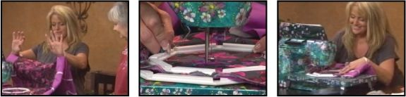 View our Dragonfly Embroidery Video and learn why so many sewing enthusiasts are so happy with theirs! If you've done Free-Form / Free-Motion Embroidery before, you know that your hands become sore, not with the Octi-Hoops! Your hands won't hurt, your eyes won't burn and you'll feel as though you've taken a vacation, because it releases endorphins that will make you want to stay at your machine for days!