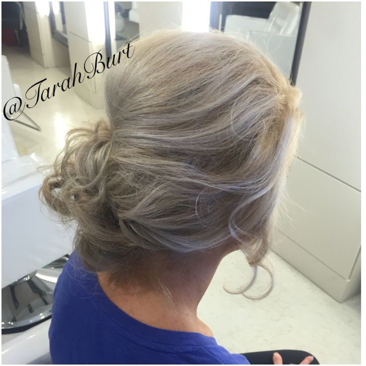 A Formal, Sassy, Low-Bun, Messy Updo. Absolutely stunning on you! #updo  #updostyle #Salon41 #HairByTarah #hair #style #formalhair #messybun #messyhair #btcpics #HairBrained #ModernSalon #gorgeoushair #gorgeousgirl