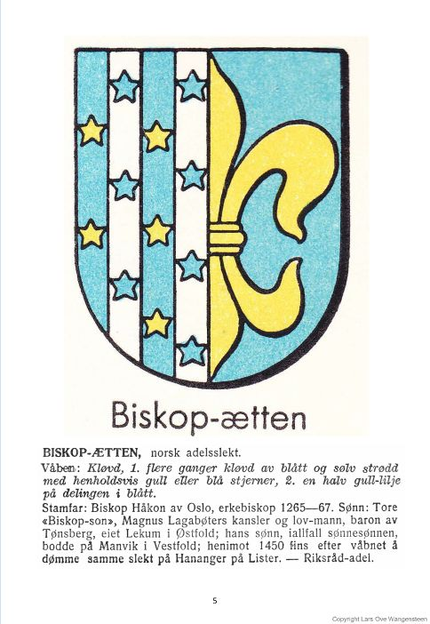 Biskop-ætten