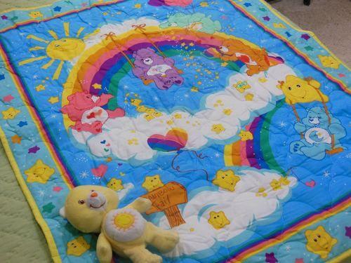 Care Bears Crib Quilt and Care Bear.jpg