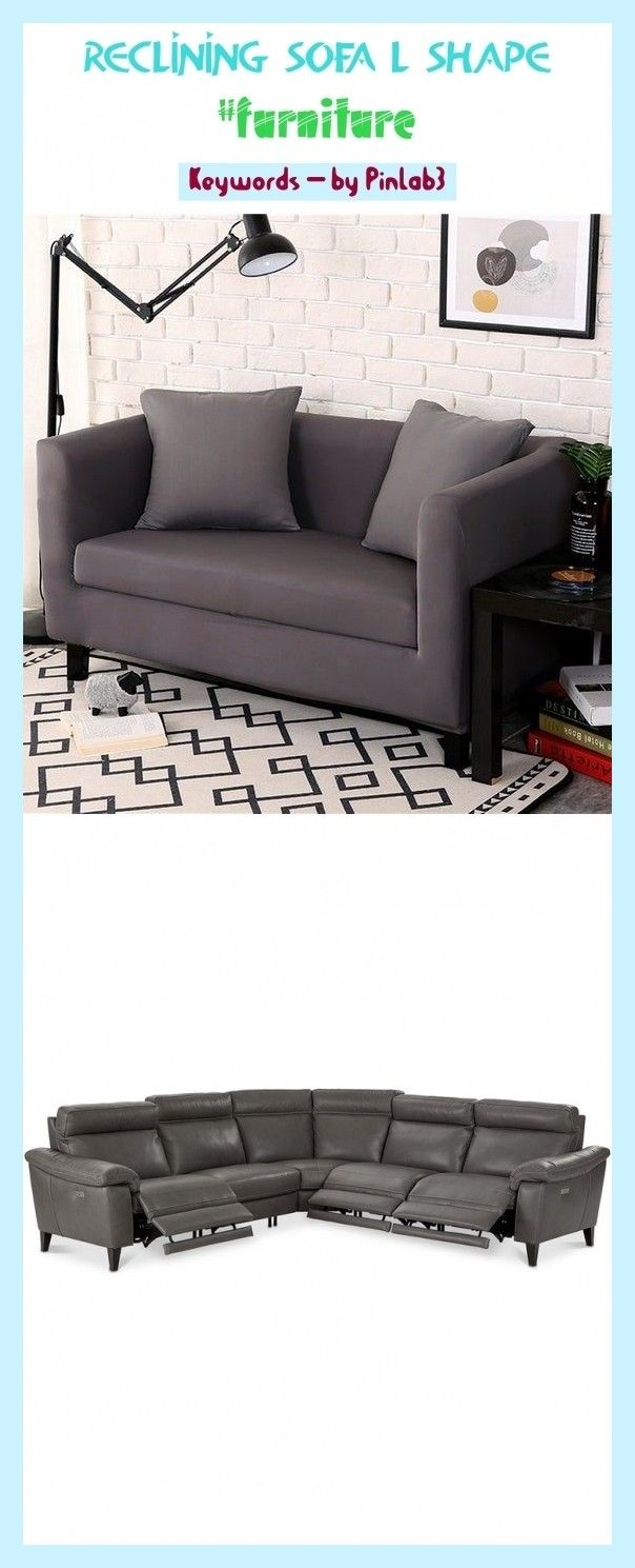 Reclining Sofa L Shape Reclining Shape Liegesofa Canape Inclinable Forme Liegesofa L Form In 2020 Reclining Sofa Decor Sofa Layout Sectional Sofa With Recliner