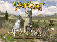 wolf quest Developed by Minnesota Zoo and eduweb. This game is about a wolf that has to survive, feed, find a mate, and protect his/her puppys.  In: Biology Why: Because it teaches you about the food chain and why nature is important.  Grade: 4 because it only includes strategy and logic but not history or coordination or subject.
