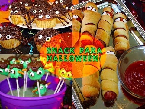 IDEAS de Snack para Halloween  - YouTube