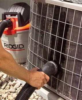 """""""My husband owned his own A/C business for a long time....he said everything on here is the PROPER way to do this.....do it yourself, will make unit not work so hard and you save $ by not paying the A/C company!"""" Our electric bill rose to $430 two years ago and a simple A/C cleaning lowered it to $150. Totally re-pinning this."""