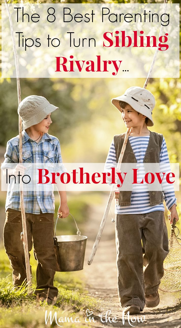 The 8 best parenting tips to turn Sibling Rivalry into Brotherly Love. Parenting…