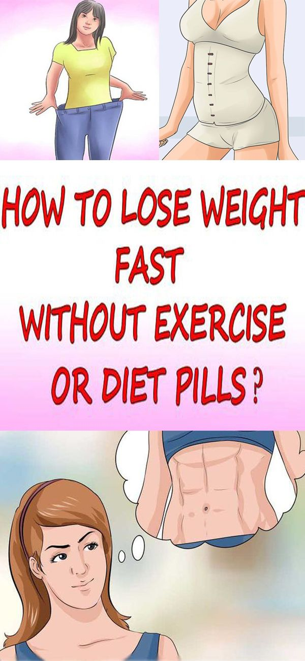 Fast weight loss plan without exercise