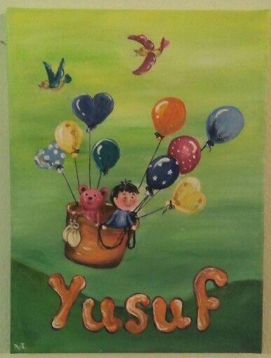 Ysuf-acrilyc on canvas