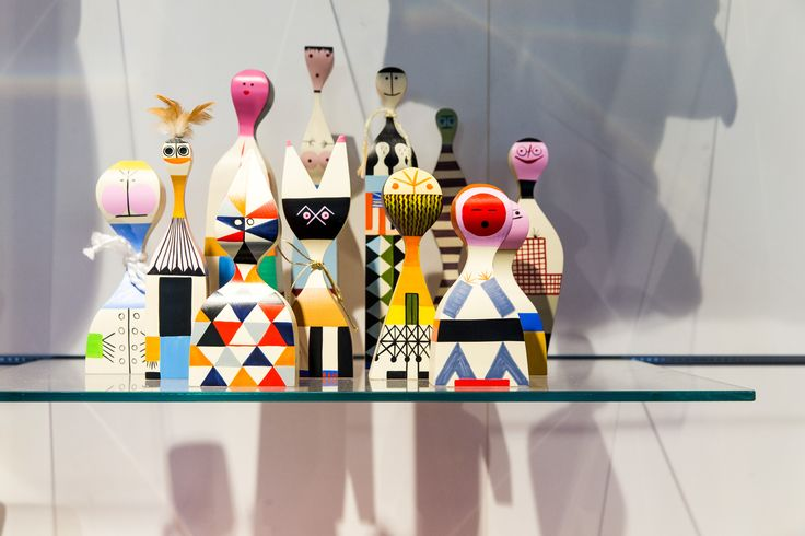 Charming and whimsical. The original family of Wooden Dolls, crafted by Alexander Girard in 1953, currently reside in the @Vitra design museum. However, you can get your own hand-crafted Wooden Doll now by shopping on our website.  www.livingedge.com.au