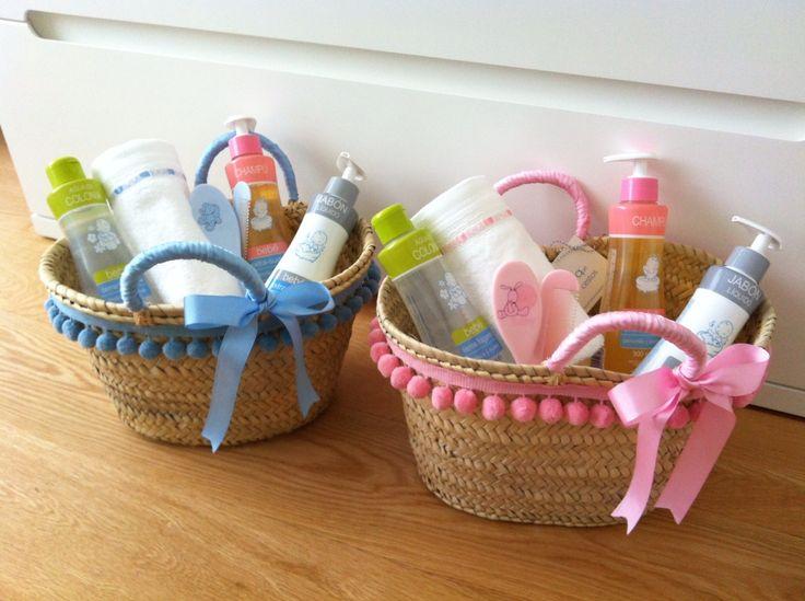 Set De Baño Deliplus:Canastas De Mimbre Para Bebe