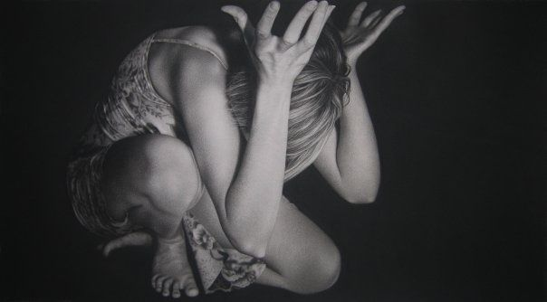 One of my favorite artists. This charcoal drawing was done by the very talented Kim Buck