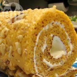 Gâteau roulé à la citrouille @ qc.allrecipes.ca