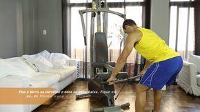 Guia de exercício da Estação de Musculação Athletic Advanced 290M - Athl...