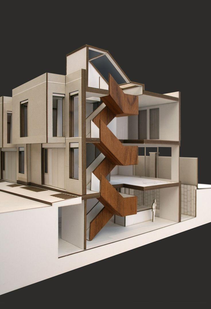 Piercy & Co., Wakefield St Townhouses. Model