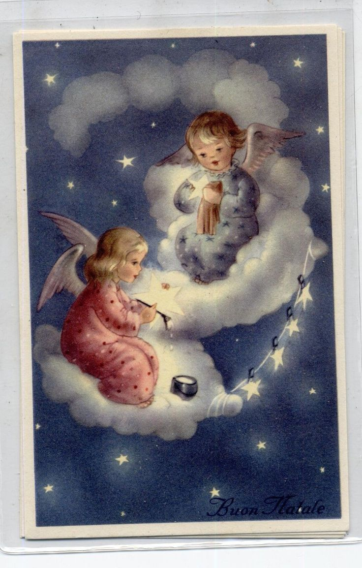 c.1940 Christmas card from Italy