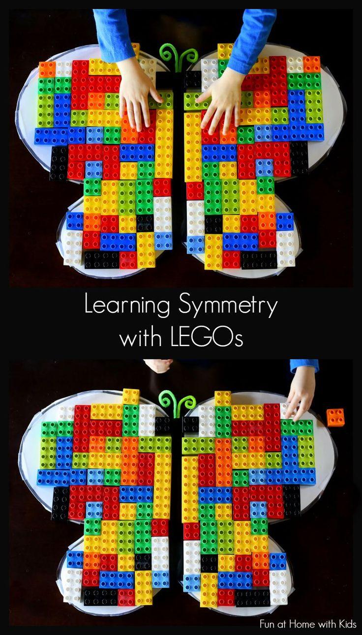 симметричная картинка из лего свой профиль найдите