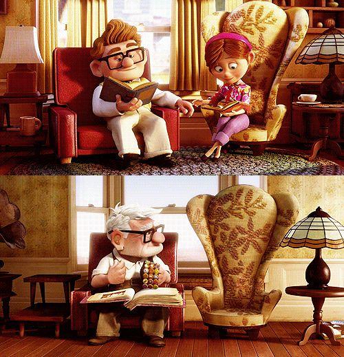 Carl and Ellie      #carl #ellie #up #movie