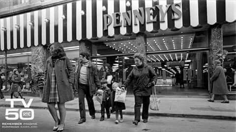 Pennys on Henrys Street, Dublin 1972.