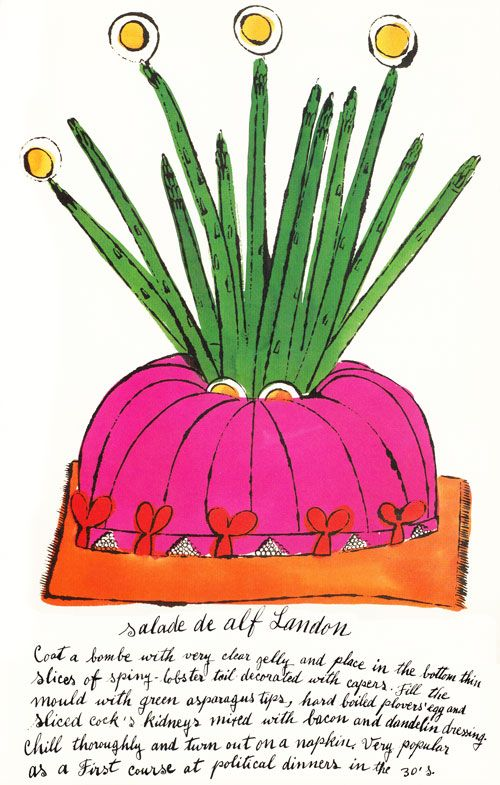 These charming illustrations populate a 1959 cookbook - imagine my surprise when it was... Wild Raspberries: Young Andy Warhol's Little-Known Vintage Cookbook   Brain Pickings