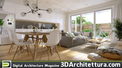 read 3D Architettura interview with arch-viz artist Thomas Deffet and learn his professional secrets