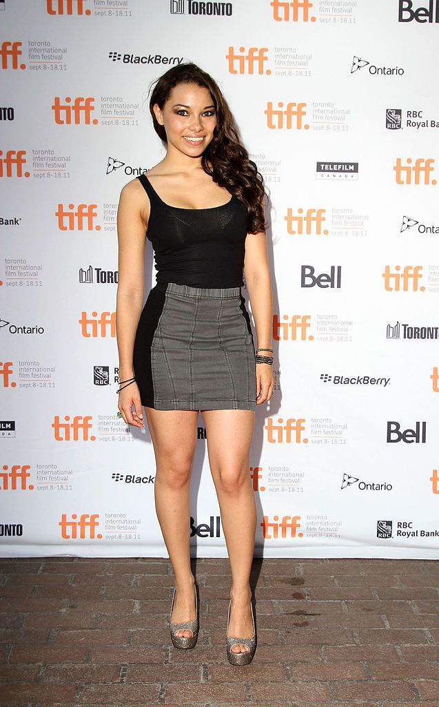 Actress Jessica Parker Kennedy Attends 5050 Premiere At Ryerson