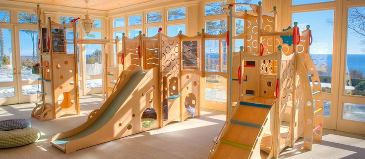 WOW...lucky kids that get to use this! Rhapsody indoor playset- Everey daycare should have one of these.