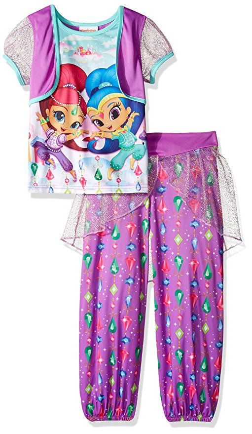 5f654a742bea Get ready to for bed in this adorable costume style girls Shimmer ...