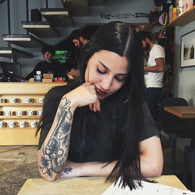 1000+ Ideas About Baby Girl Tattoos On Pinterest
