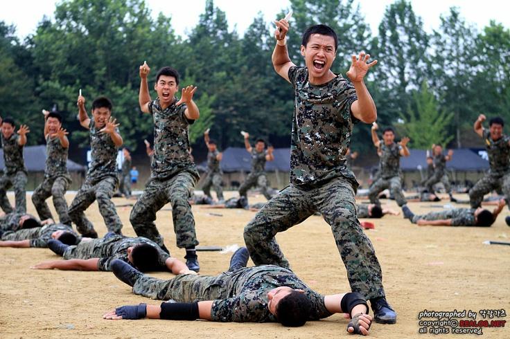 육군 최강의 특전사 요원들