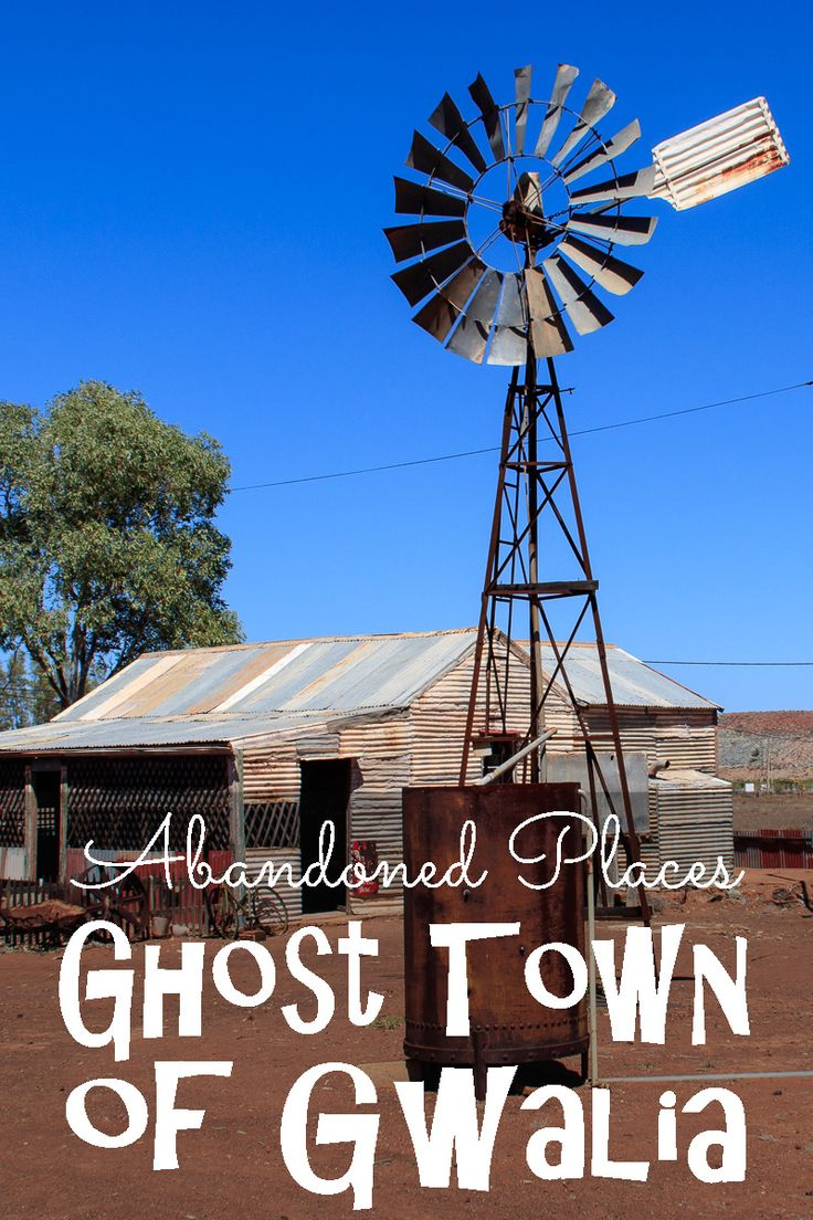 Gwalia is a beautiful example of a ghost town from the gold rush in the Goldfields of Western Australia.