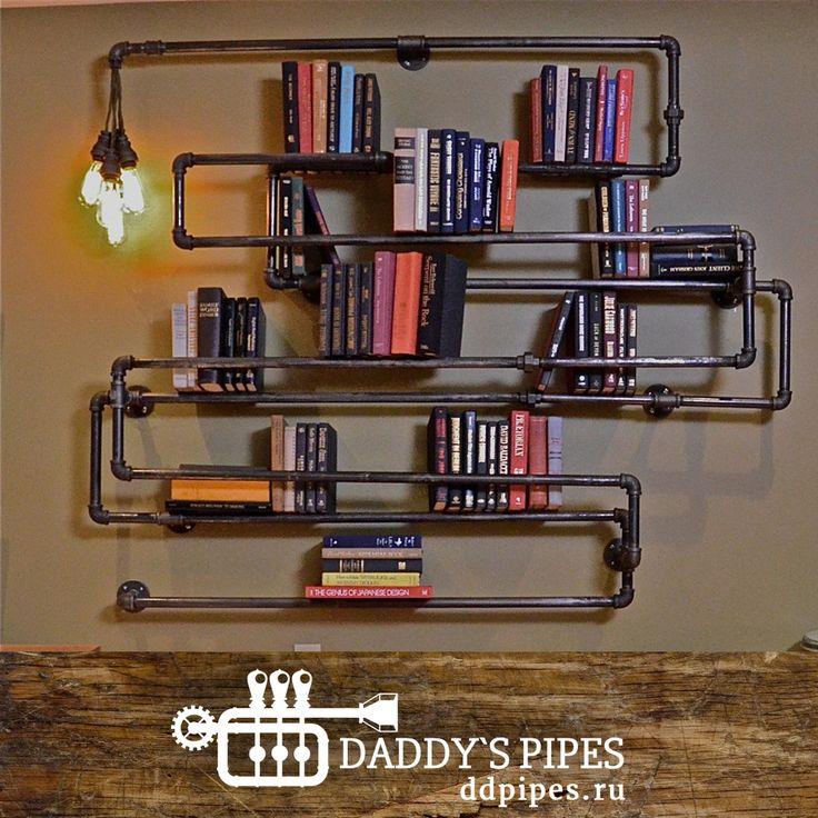 При подготовке очередного поста возникла идея сделать подборку уникальных дизайнерских решений для интерьера. Оказалось, что любой предмет мебели в стиле #лофт или #индастриал великолепно вписывается практически в любое пространство, будь-то комната в квартире или кухня на даче. Самое замечательное, что дизайнеры и мастера #Daddy'sPipes могут воплотить любую из Ваших идей в #металле и #дереве. А как известно эти материалы придают интерьеру неповторимую #атмосферу жизни и движения. #ddpipes…