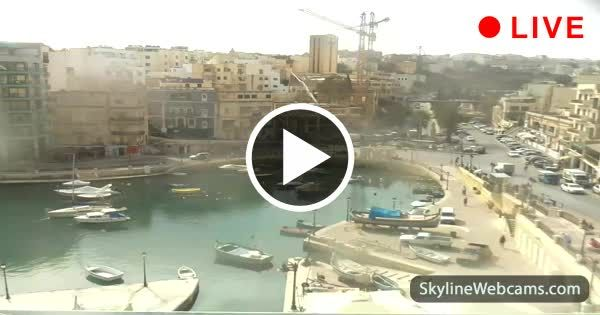 Splendid view of St. Julian's and Spinola Bay
