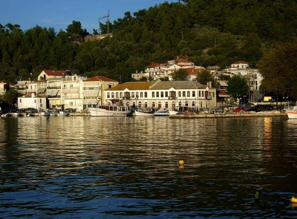 Port of Limenas, Thassos island