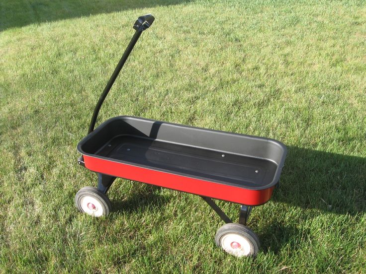 My kids have an old Radio Flyer wagon that was in need of a good makeover. The paint inside the bed was all worn away and replaced by an ever-worsenin...