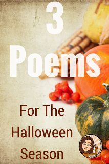 Ms. F's Teaching Adventures: 3 Poems for Halloween