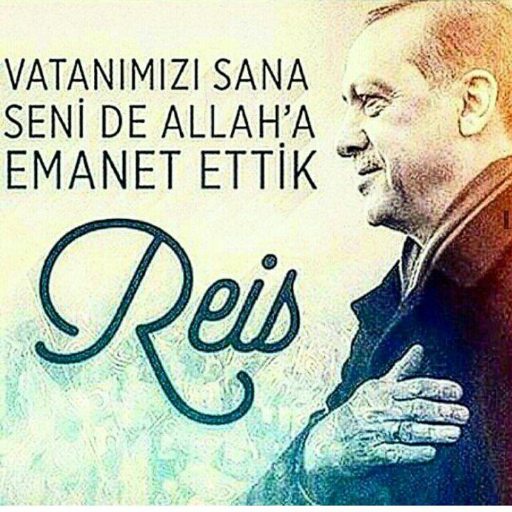 SENİNLEYİZ BAŞKAN!  #UzunAdam #RTE #VatanSevdası