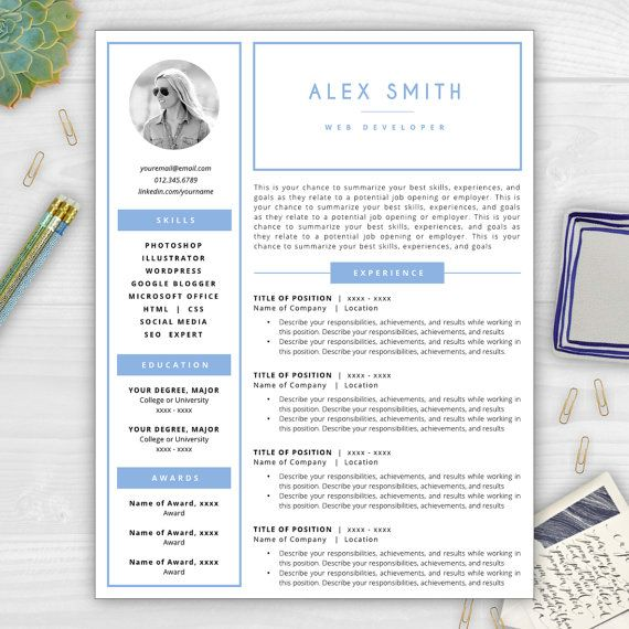 17 best Resumes with Photos images on Pinterest | Cover letter ...