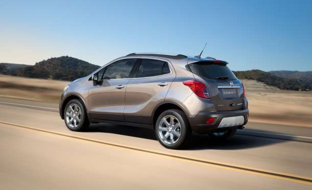 The Encore eschews tradition with its 138-hp 1.4-liter turbo four, which delivers good fuel economy ... - Car and Driver