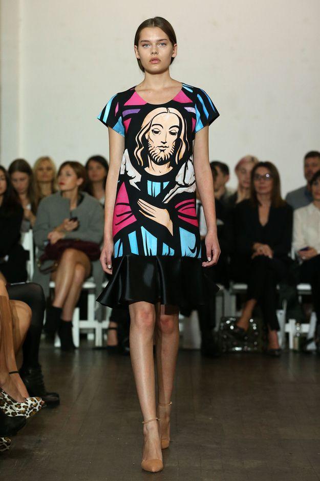 Australian Fashion Designer Debuts Sassy Jesus Prints