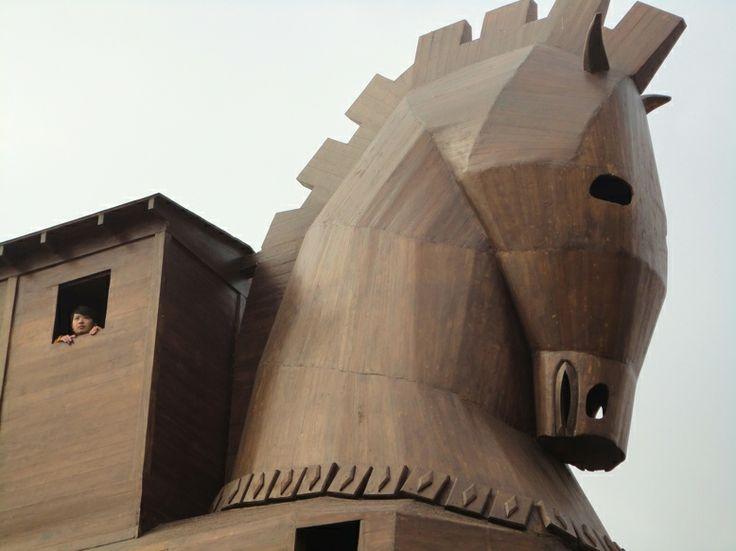 Trojan Horse, Troy