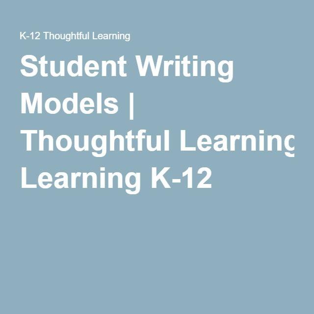 Persuasive essay models middle school