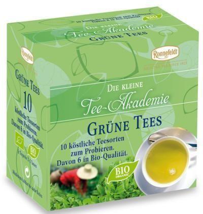 Die kleine Ronnefeldt Tee-Akademie Grüne Tees