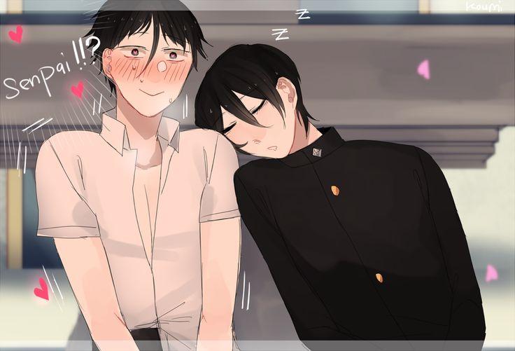 He has a Gay Kohai by Koumi-senpai.deviantart.com on @DeviantArt
