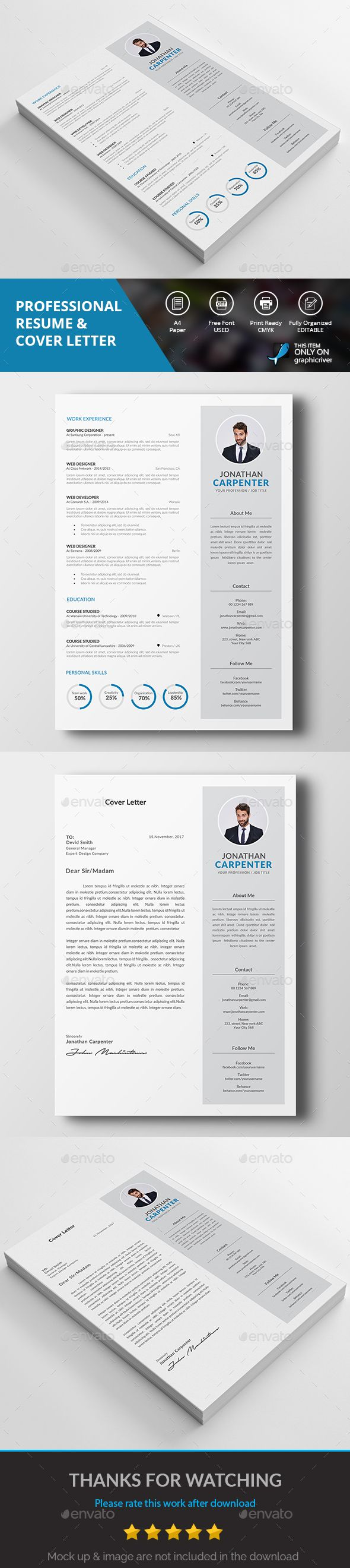 free resume templates Alam It Resume Elegant
