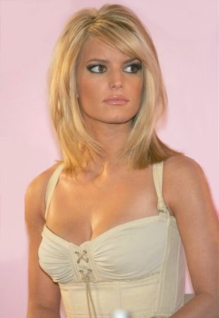 Jessica Simpson Hairstyles... Love this style and color! Possible summer hair!