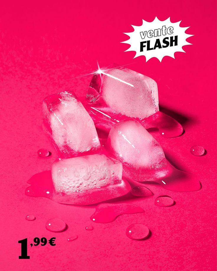 QUATRE GLAÇONS EN COURS DE FONTE.  Démoulés le 03/03/16  ENVOI RAPIDE!  #envoirapide #premiumbazar #glacons #ice #viteçafond