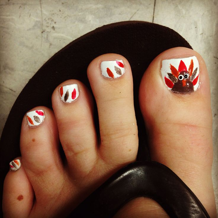 Thanksgiving nails   Primped and Polished   Pinterest ...