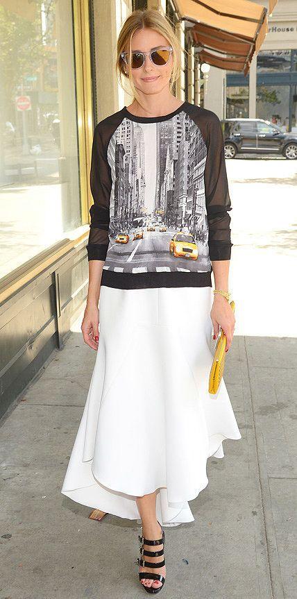 Get the Look: Olivia Palermo Elie Tahari for Kohl's DesigNation Sweatshirt