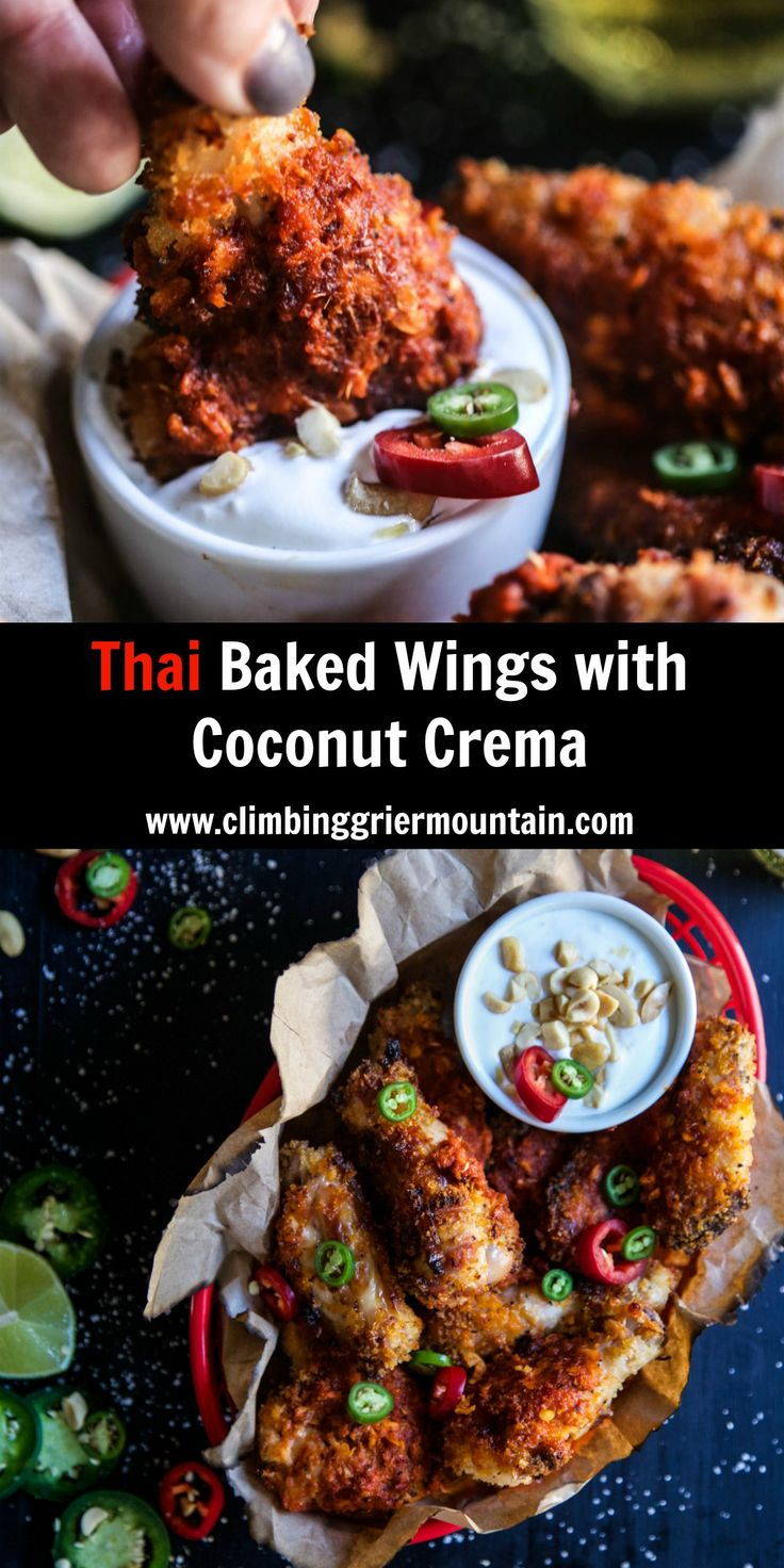 1189 best bargainsrus indian iranian turkish pakistani and sub thai baked wings with coconut crema forumfinder Gallery