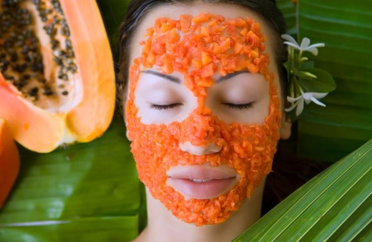 One of the most effective beauty benefits of #Papaya is lightening of your skin complexion due to it's natural bleaching properties. In addition, it has certain cleansing properties which help clear the skin of impurities. The vitamin C in it also helps protect skin cells against Sun damage. #SkinCare
